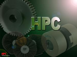 Fond d'écran HPC : engrenages - brosses - accouplements